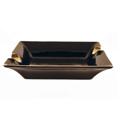 0336 Ceramic Ashtray (2 cigars)
