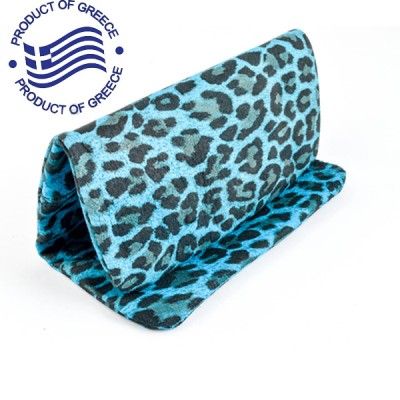 Leather Tobacco Pouch Leopard