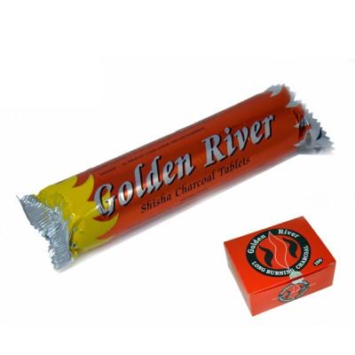 Golden River shisha charcoal