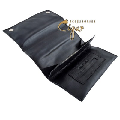 357 Leather Tobacco Pouch Black