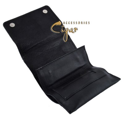 359 Leather Tobacco Pouch Black