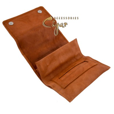 360 Leather Tobacco Pouch Coffee