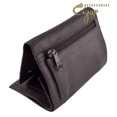 361 Leather Tobacco Pouch Chocolat