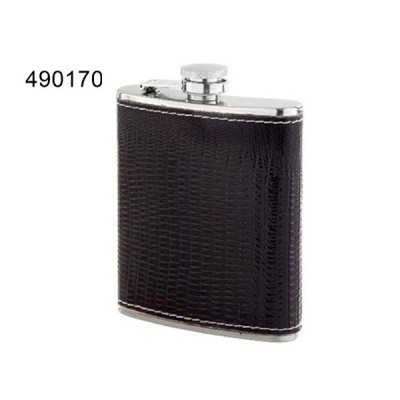 Flask PU Black 7oz