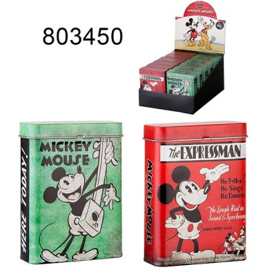 Cigarette Box Mickey Mouse  dis.12pc