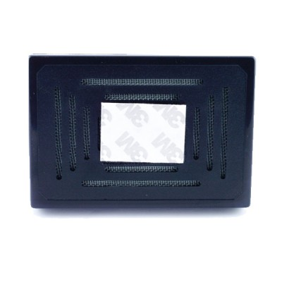 Black square humidifier with foam