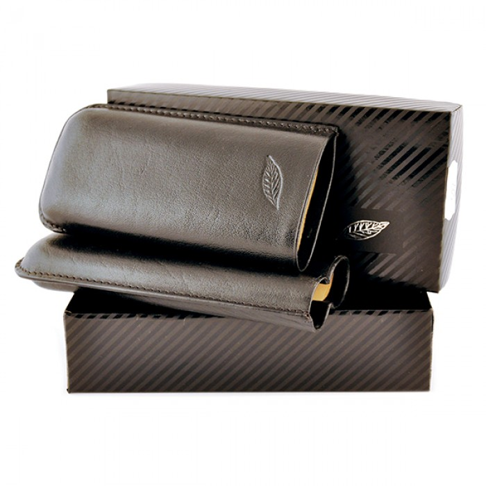Cigar Case for 2 cigars-44ring
