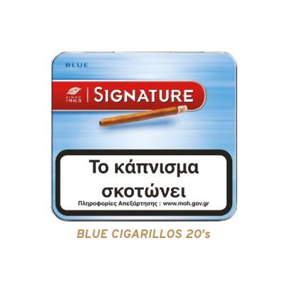 SIGNATURE BLUE 20's
