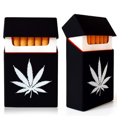Silicone cigarette case Cannabis