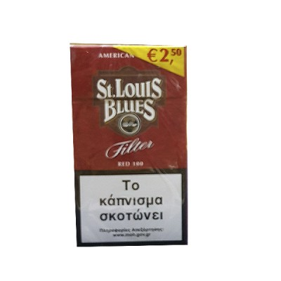 St. Louis Blues Red 100s